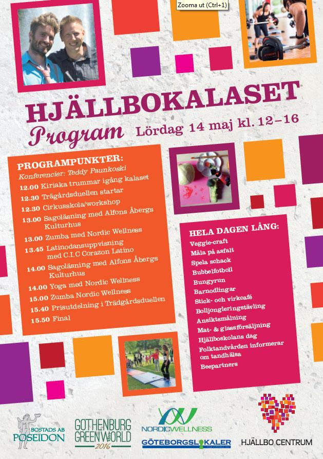 Hjällbokalaset, Göteborgslokaler